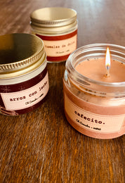 Que Cozy Candle Set