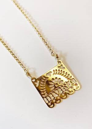 Papel Picado Divina Necklace