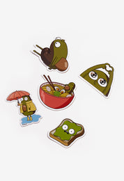 Guacardo Sticker Pack