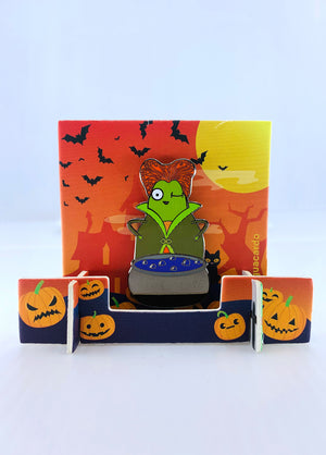 Witch I'm Fabulous Guacardo Mystery Halloween Pin
