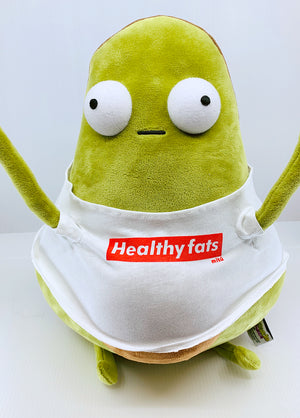 "Guacardo Healthy Fats 14"" Big Plushie"