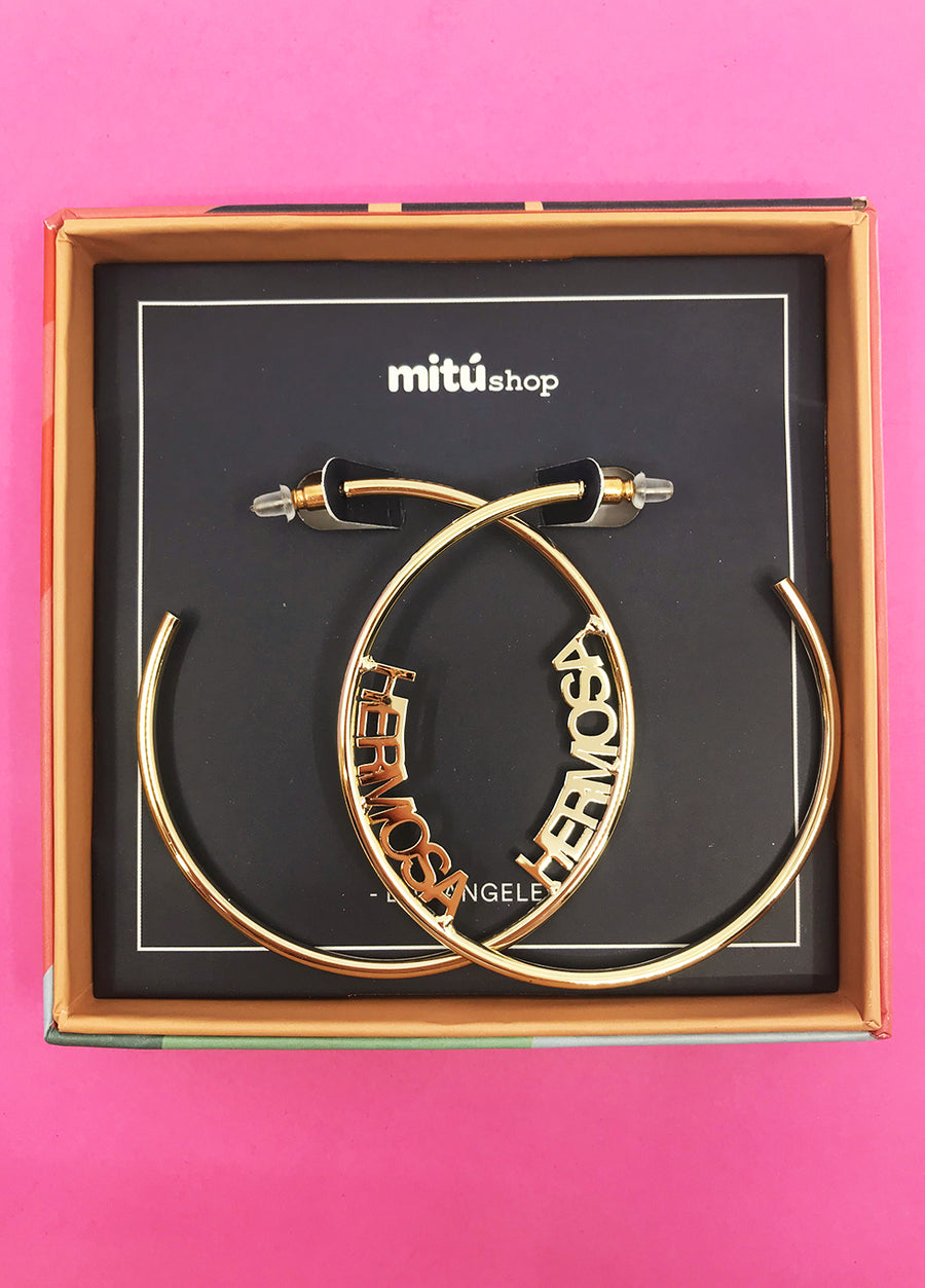 Hermosa Hoop Earrings