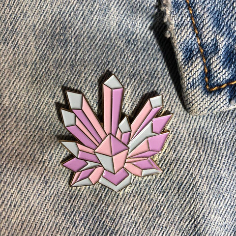 Crystals pin