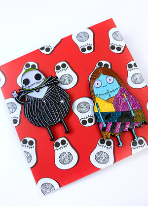 Guac & Sally Pin Set