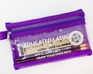 Educated Latina Pencil Case