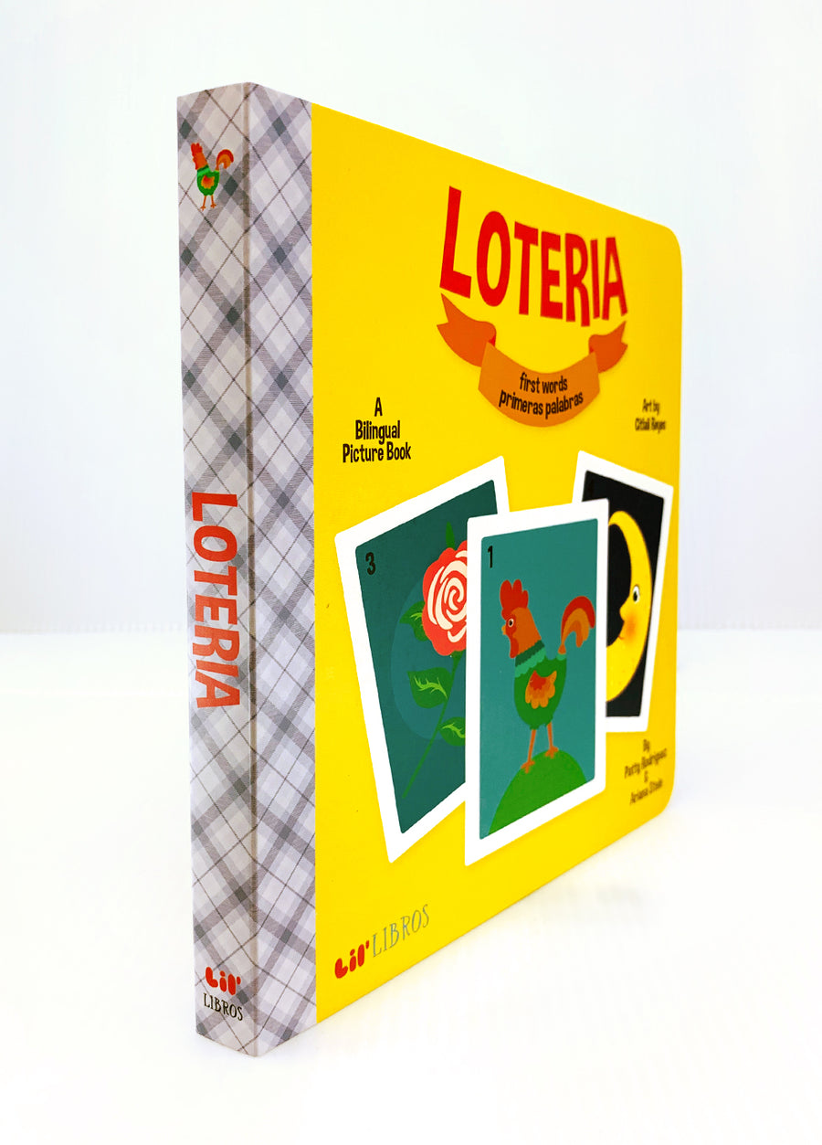 Loteria: First Words Book