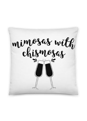 Mimosas With Chismosas Pillow