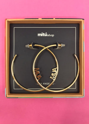 Mija Hoop Earrings