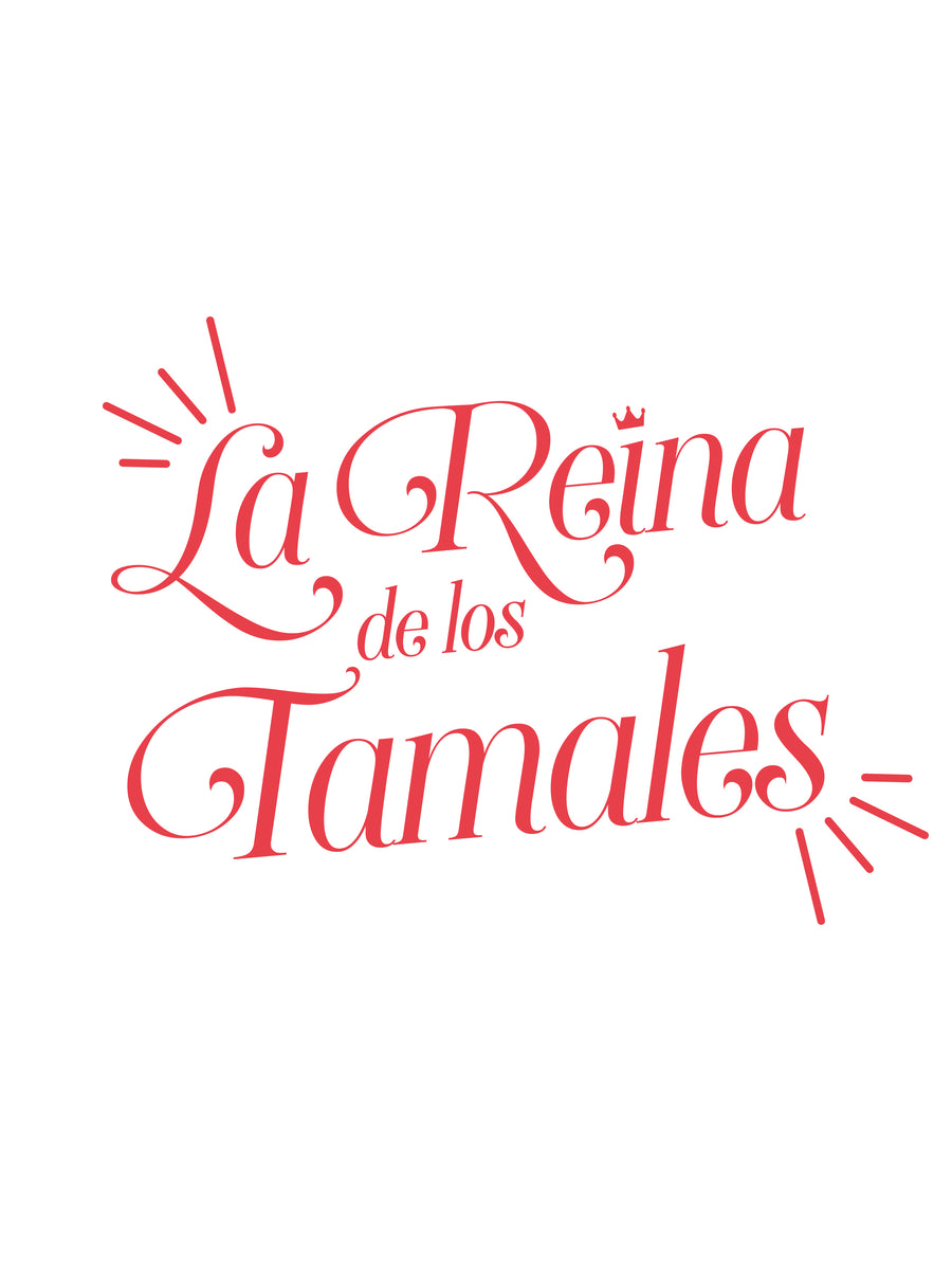 Reina de Los Tamales Embroidered Apron