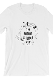 The Future is Female White Tee