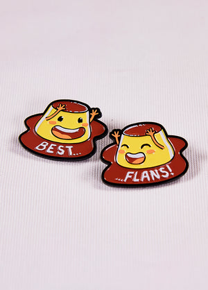 Best Flans pin pack