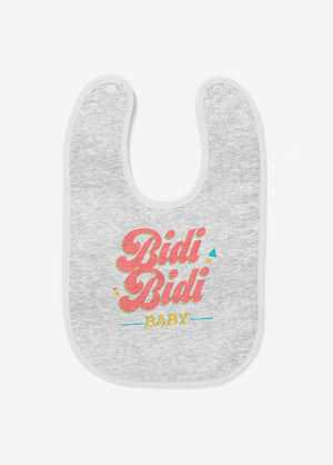Bidi Bidi Embroidered Baby Bib