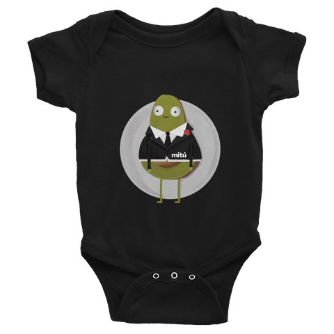 guacardo fancy onesie