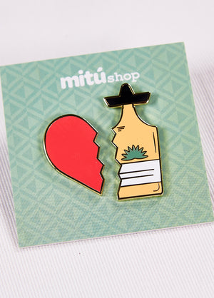 I Heart Tequila Pin Pack