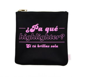 Pa' Que Highlighter Makeup Bag
