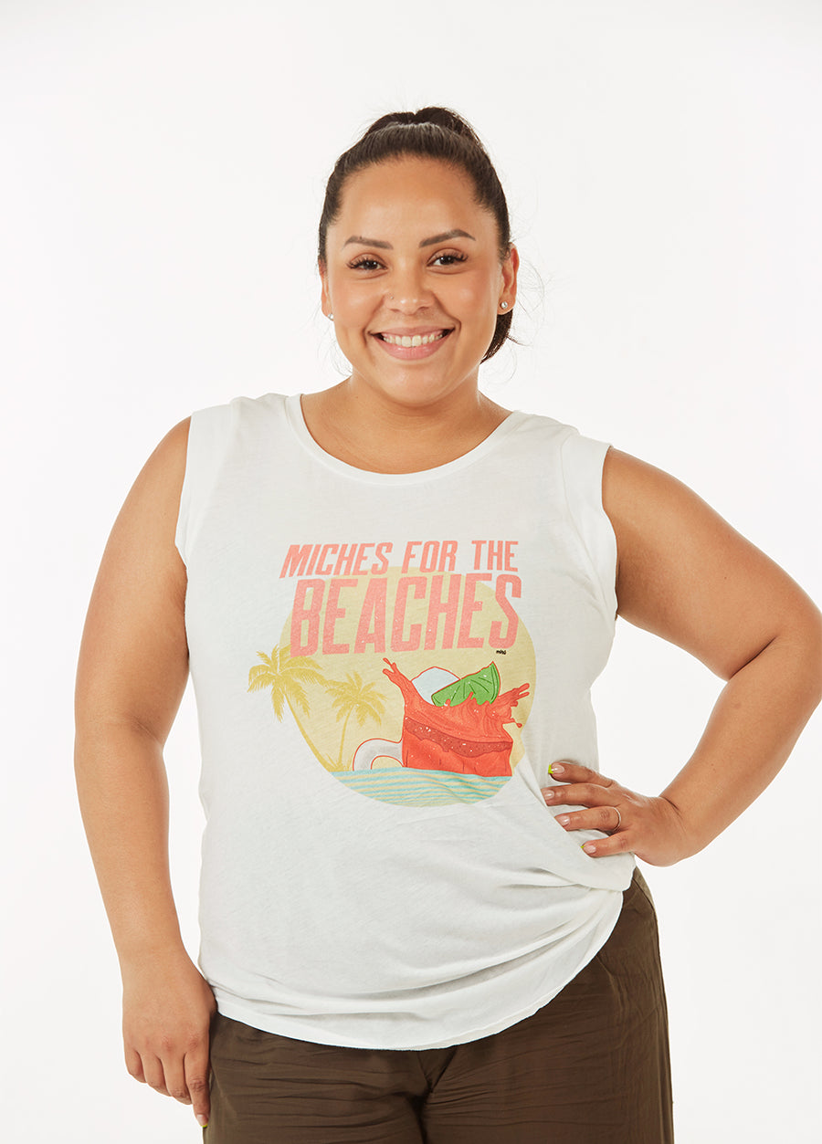 Miches For The Beaches Unisex Tank Top