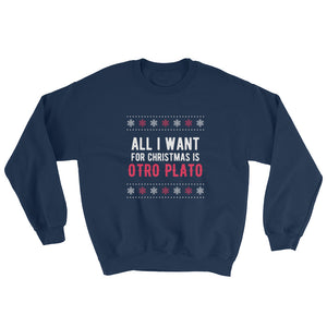 I-Want-Is-Otro-Plato-Sweatshirt-Christmas-blue