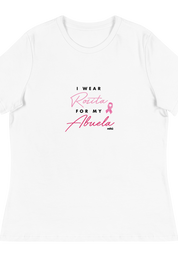 I Wear Rosita For My Abuela Charity Tee