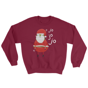 guacardo-santa-sweatshirt-red