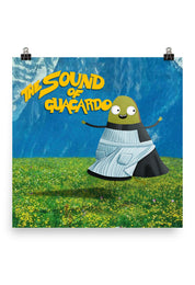 The sound of guacardo Poster