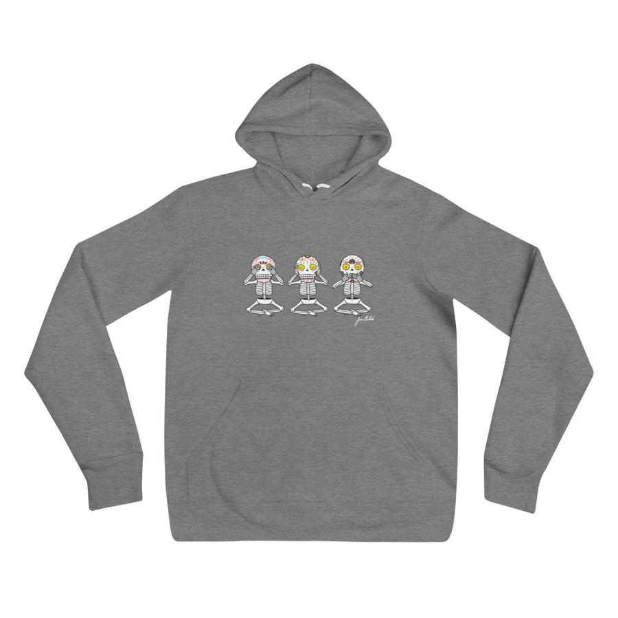 See No Evil, Hear No Evil, Speak No Evil Hoodie