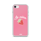 La niña fresa phone case