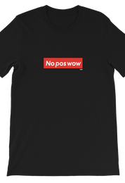 No Pos Wow Tee