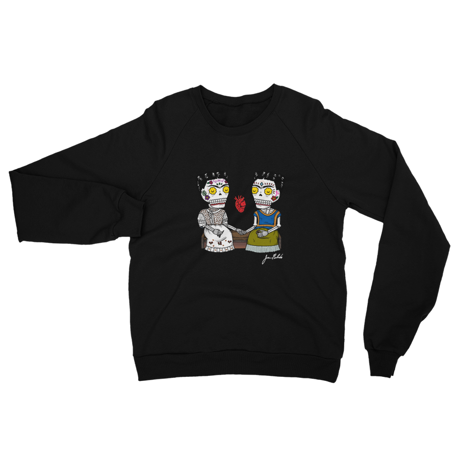 Dos Fridas Fleece Raglan Sweatshirt