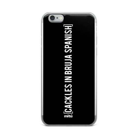 cackles in bruja spanish phone case