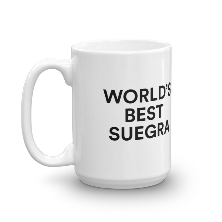 World's Best Suegra Mug