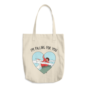 I'm falling for you Tote Bag