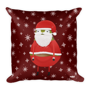 Avocado-Guacardo-Santa-Pillow-front