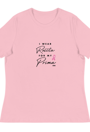 I Wear Rosita For My Prima Charity Tee
