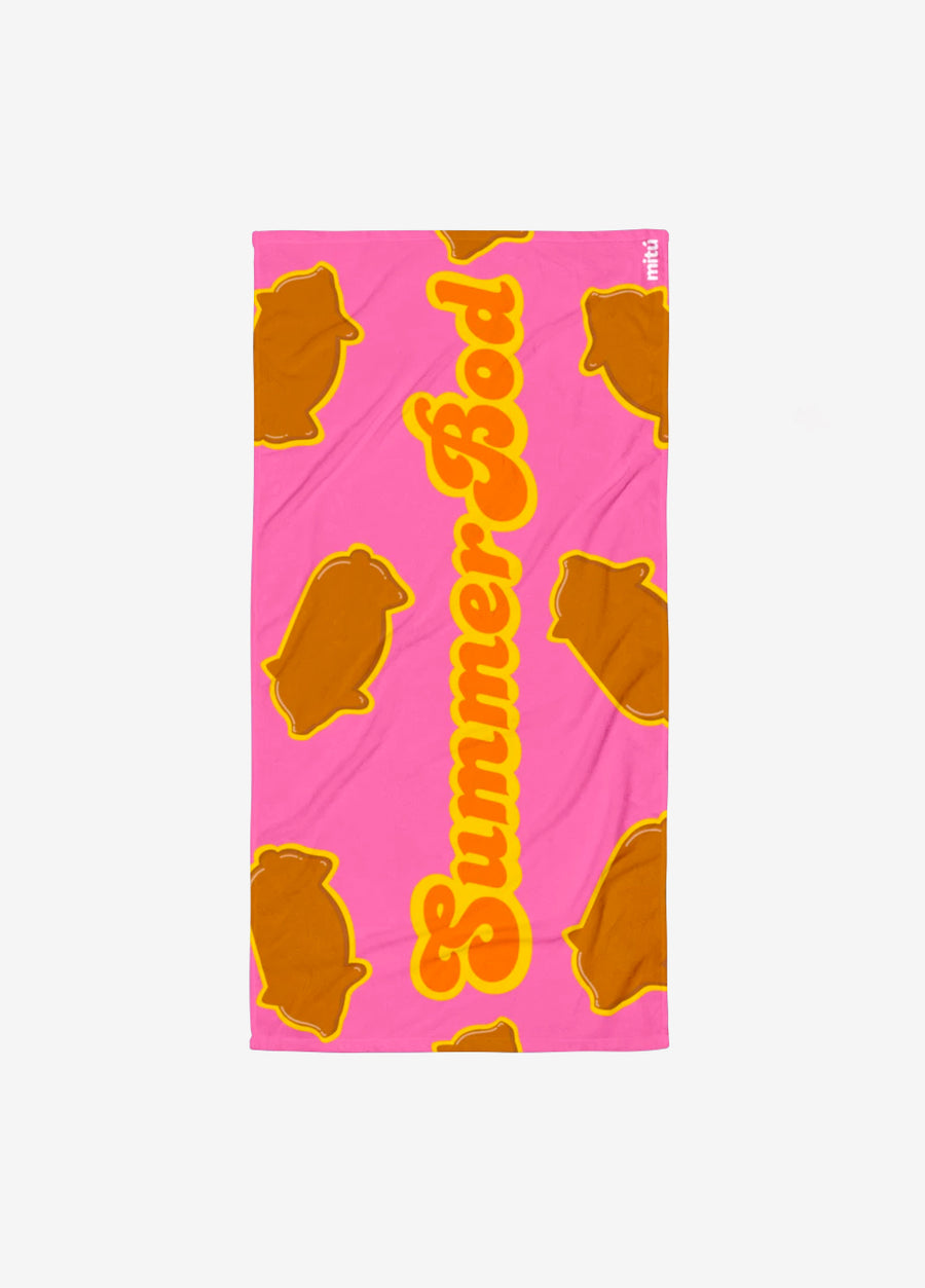 Puerquito Summer Bod Towel