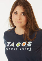 Tacos_Before_Vatos_T-Shirt_Blue