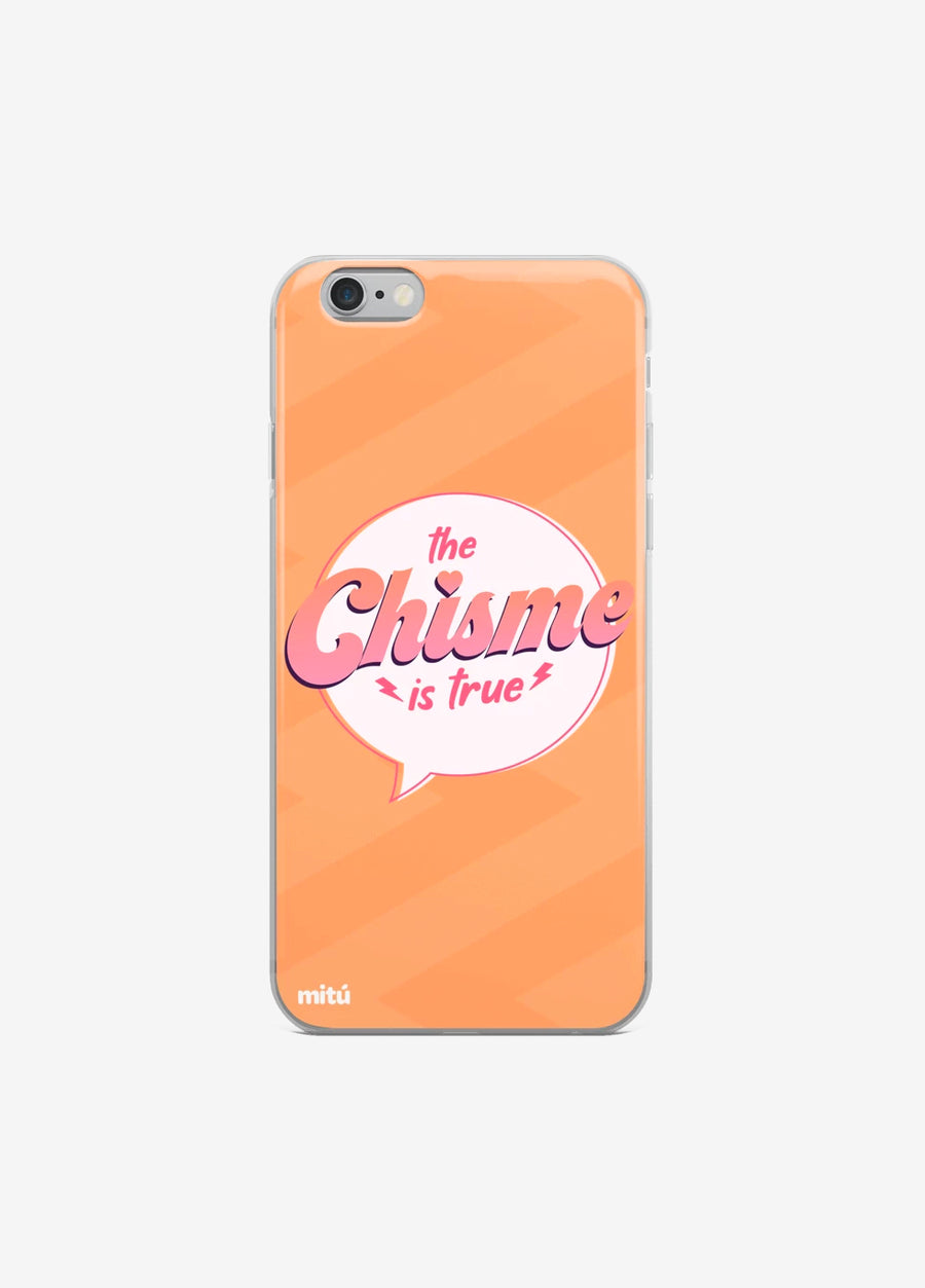 The Chisme Is True iPhone Case