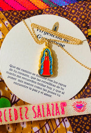 Virgencita de Guadalupe Necklace