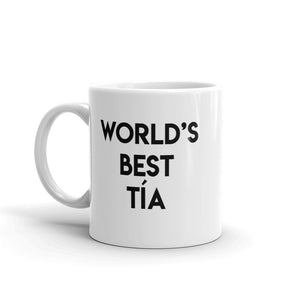World's best tía mug