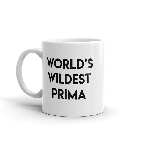 World's wildest prima