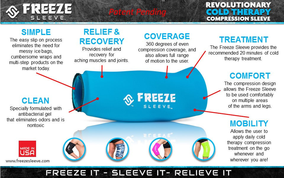 Image result for freeze sleeve image