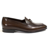 brown Belgian loafer