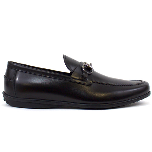 The James Loafer in Black Leather