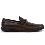 The James Loafer in Brown Leather