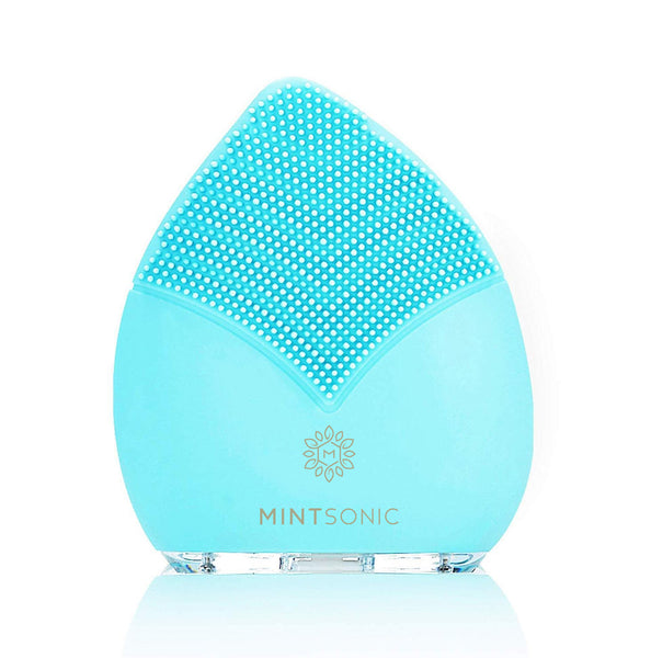 MINTSonic Luxury Facial Cleansing Brush - MINT Biology - Front View