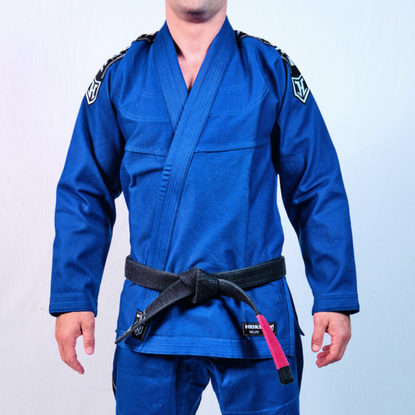 Kids Hooks Origin BJJ Gi - Blue with White Belt