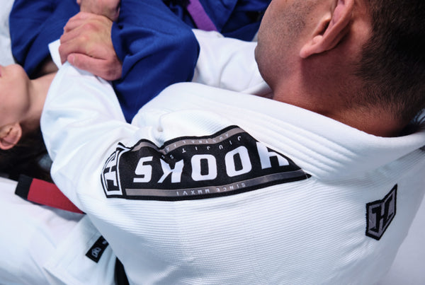 Hooks Origin BJJ Gi - White with White Belt