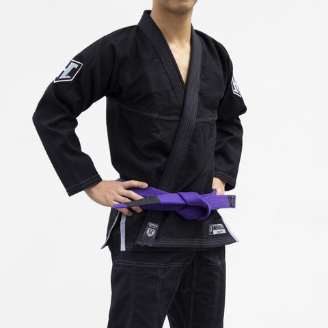 PRO LIGHT - BLACK/SILVER BJJ GI