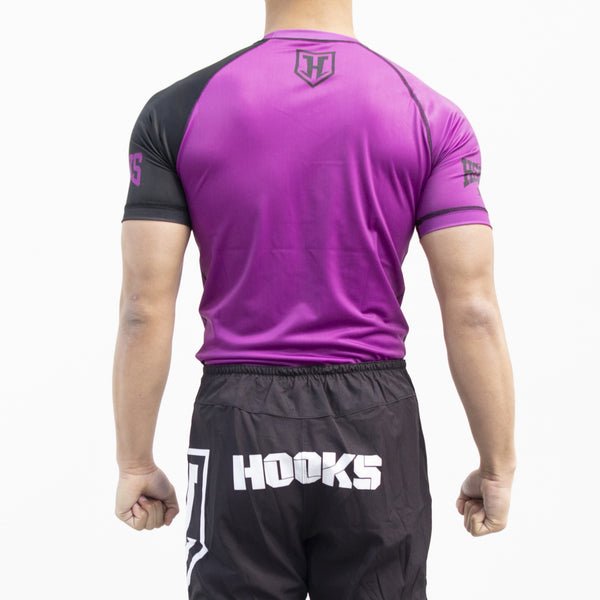 PRO LIGHT - PURPLE RASH GUARD