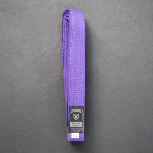 Hooks BJJ Purple Belt