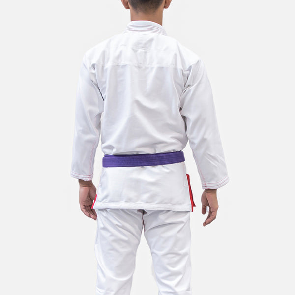 PRO LIGHT - WHITE/RED - LIMITED EDITION BJJ GI
